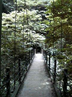 高尾山つり橋