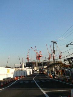 二子玉川駅からワンエグ方向現在