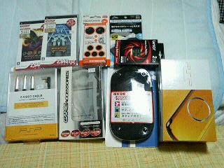 購入PSP一式♪